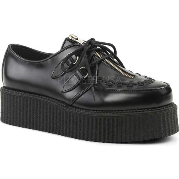 デモニア メンズ ブーツ&レインブーツ シューズ Creeper 440 Black Leather