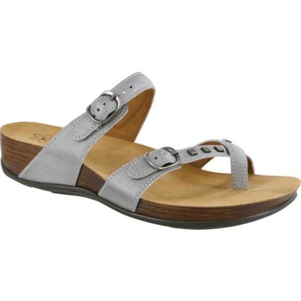 エスエーエス レディース サンダル シューズ Jett Toe Loop Sandal Steel Leather