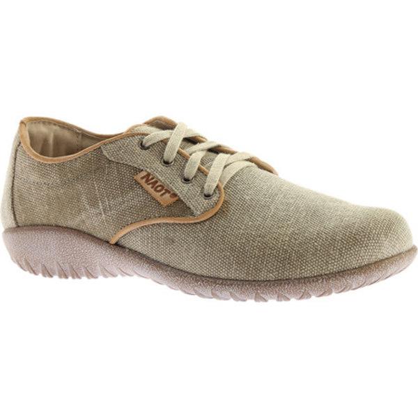 ナオト レディース スニーカー シューズ Tiaki Lace Up Shoe Khaki/Biscuit Leather