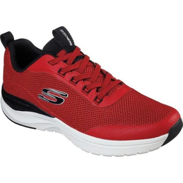 スケッチャーズ メンズ スニーカー シューズ Ultra Groove Live Session Sneaker Red/Black