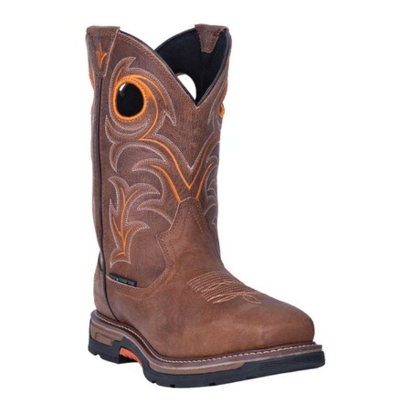 ダンポスト メンズ ブーツ&レインブーツ シューズ Storms Eye Waterproof Boot DP56414 Brown Waterproof Full Grain Leather