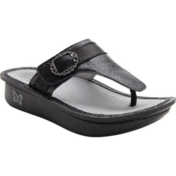 アレグリア レディース サンダル シューズ Codi Thong Sandal Tobacco Tar Leather