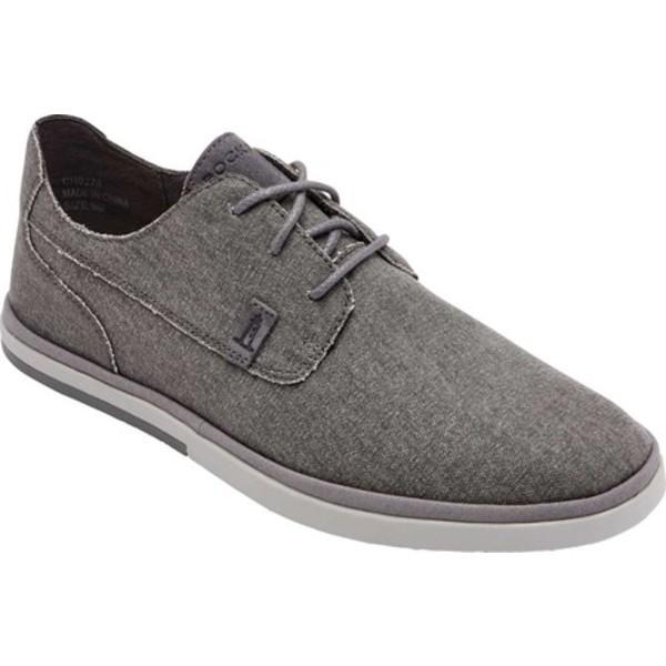 ロックポート メンズ ドレスシューズ シューズ Austyn Plain Toe Oxford Steel Grey Canvas