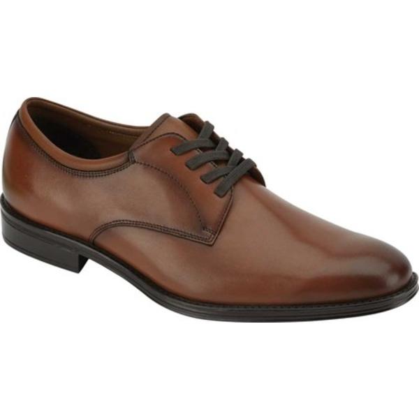 ドッカーズ メンズ ドレスシューズ シューズ Powell Plain Toe Oxford Cinnamon Burnished Full Grain Leather