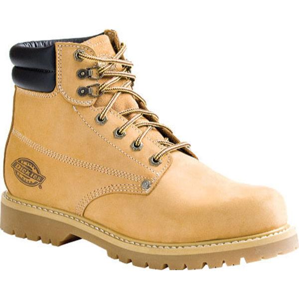 ディッキーズ メンズ ブーツ&レインブーツ シューズ Raider ST Wheat Full Grain Leather