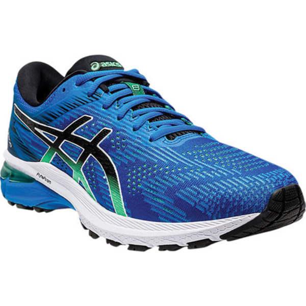 アシックス メンズ スニーカー シューズ GT-2000 8 Running Shoe Electric Blue/Black