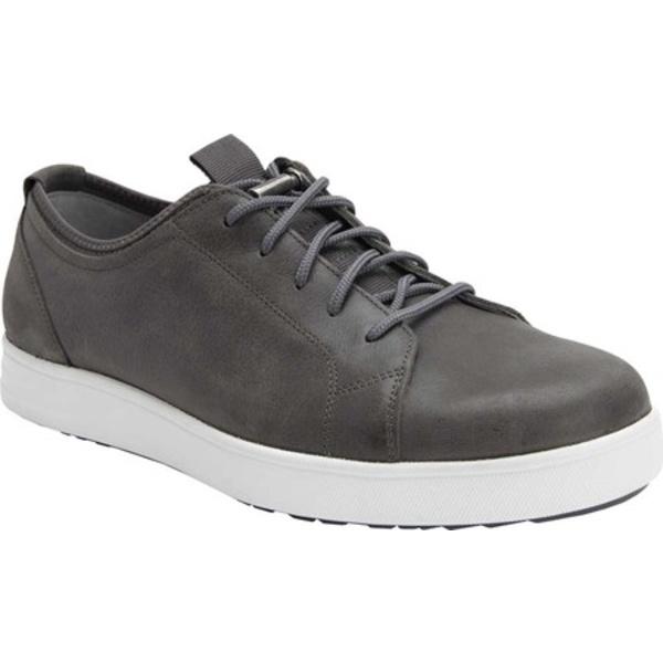 アレグリア メンズ スニーカー シューズ TRAQ Qake Sneaker Grey Leather