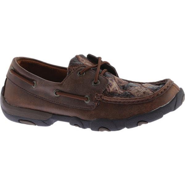 ツイステッド エックス レディース サンダル シューズ WDM0056 Boat Shoe Oiled Saddle/Bomber Ostrich/Brown Leather