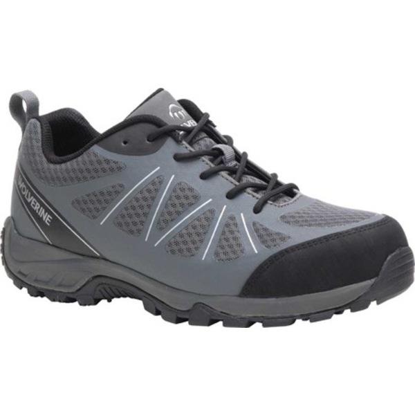 ウルヴァリン メンズ スニーカー シューズ Amherst II Low Composite Toe Work Shoe Gray Mesh/TPU