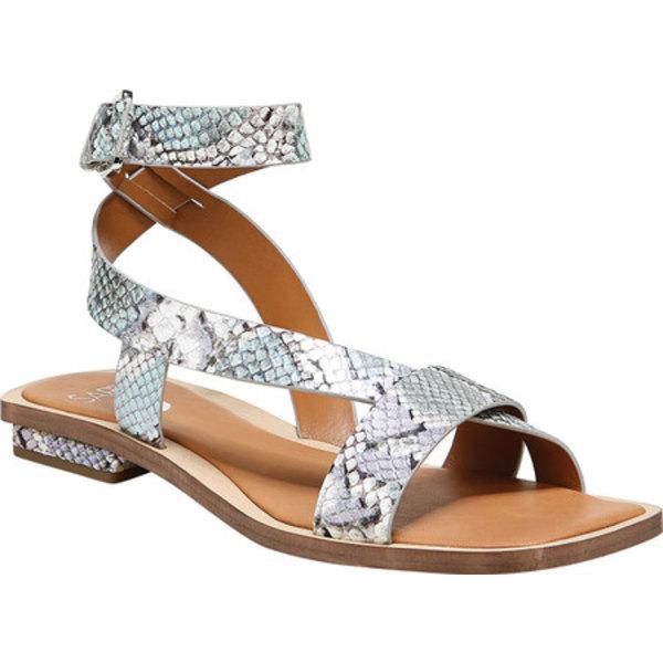 サルトバイフランコサルト レディース サンダル シューズ Ema Ankle Strap Sandal Oceanwave Luminous Python Leather
