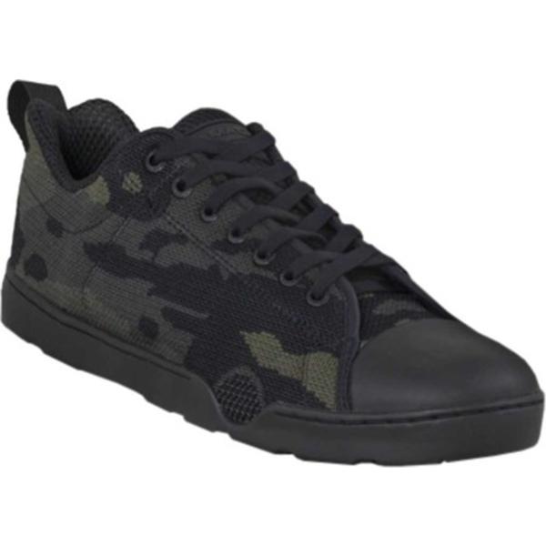 アルタマ メンズ スニーカー シューズ Urban Assault Low Sneaker Black MultiCam Flex Knit