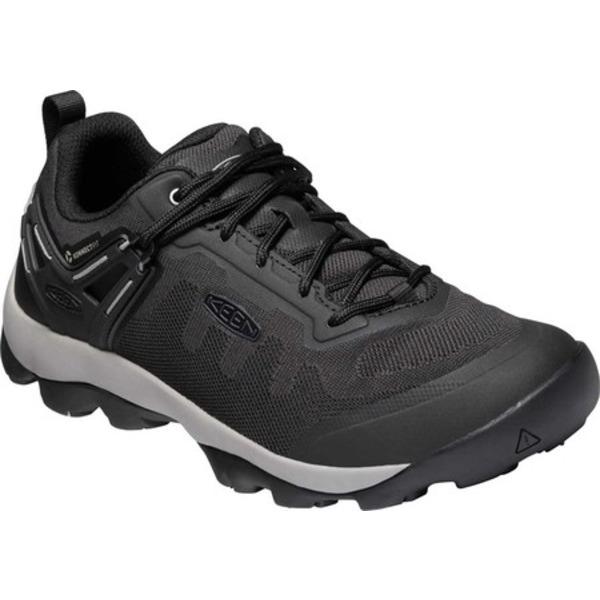 キーン メンズ ブーツ&レインブーツ シューズ Venture Vent Hiking Shoe Raven/Black