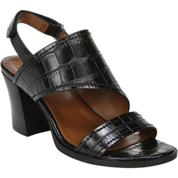 ナチュライザー レディース サンダル シューズ Raelynn Slingback Heeled Sandal Black Croco Glazed Synthetic