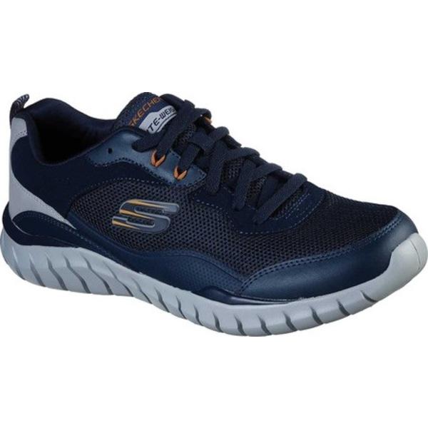 スケッチャーズ メンズ スニーカー シューズ Overhaul Betley Sneaker Navy/Gray
