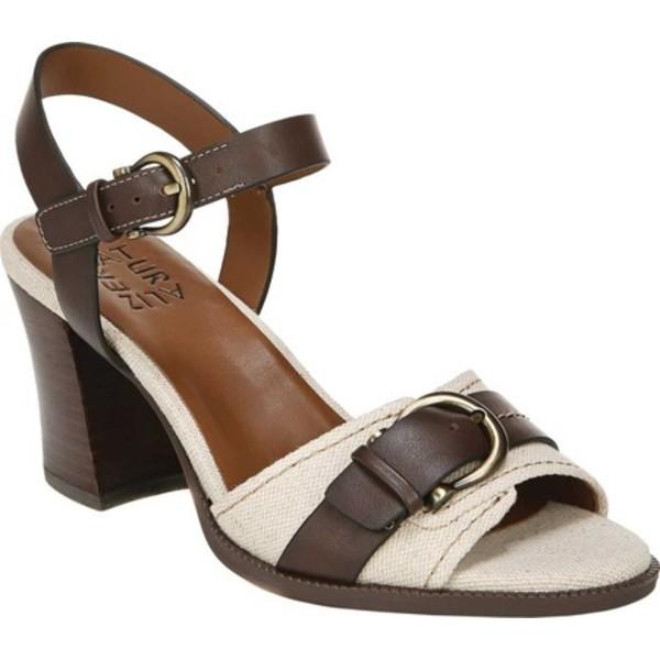 ナチュライザー レディース サンダル シューズ Malika Two Piece Sandal Natural/Chocolate Fabric