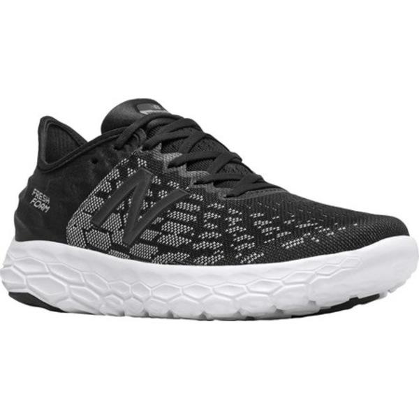 ニューバランス メンズ スニーカー シューズ Fresh Foam Beacon v2 Running Shoe Black/Orca