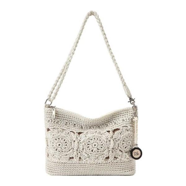 ザサック レディース ショルダーバッグ バッグ Casual Classics 3-In-1 Demi Natural Medallion Hand Crochet