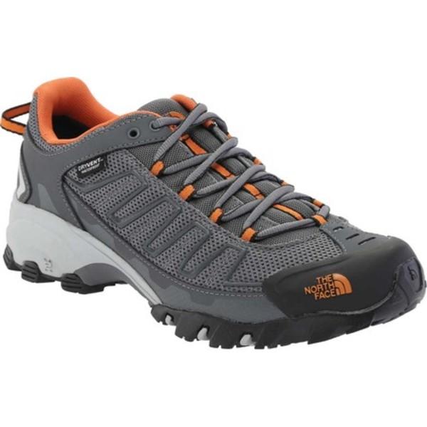 ノースフェイス メンズ ブーツ&レインブーツ シューズ Ultra 109 Waterproof Hiking Shoe Zinc Grey/Burnt Orange