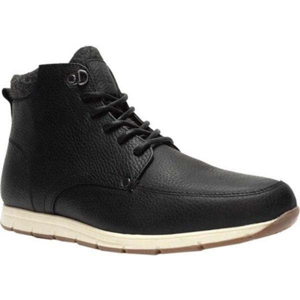 クレボ メンズ ブーツ&レインブーツ シューズ Stanmoore Ankle Boot Black Leather