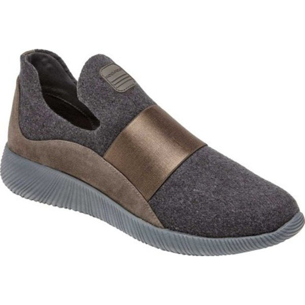 ロックポート レディース スニーカー シューズ City Lites Robyne Slip On Sneaker Grey Wool