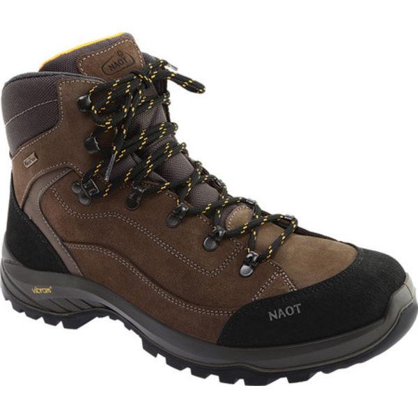 ナオト メンズ ブーツ&レインブーツ シューズ Hiker Odyssey Boot Black/Tan/Grey Suede/Polyester