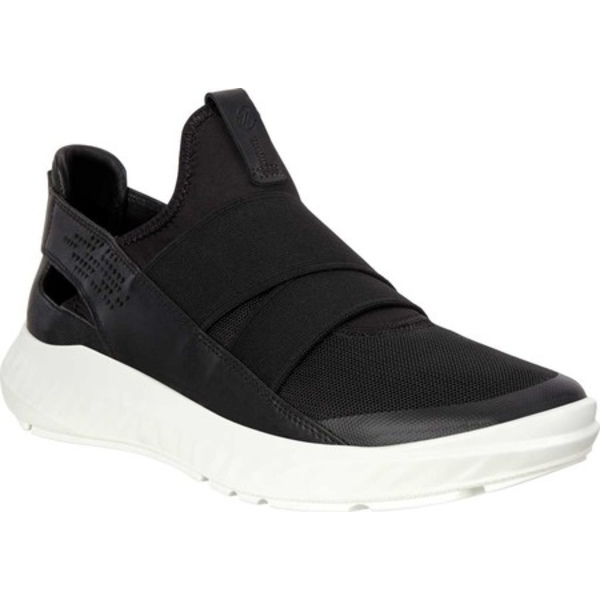 エコー レディース スニーカー シューズ ST.1 Lite Slip On Sneaker Black/Black/Black Nappa Leather