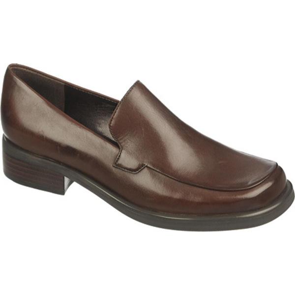 フランコサルト レディース オックスフォード シューズ Bocca Loafer Oxford Brown Calf