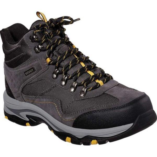 スケッチャーズ メンズ ブーツ&レインブーツ シューズ Relaxed Fit Trego Pacifico Hiking Boot Gray