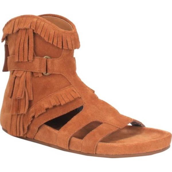 ディンゴ レディース サンダル シューズ Sunny Day Fringe Sandal DI 138 Whisky Leather