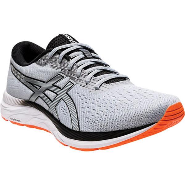 アシックス メンズ スニーカー シューズ GEL-Excite 7 Running Sneaker Piedmont Grey/Black