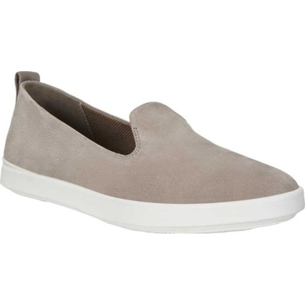 エコー レディース スニーカー シューズ Barentz Slip On Sneaker Warm Grey/Warm Grey Nubuck