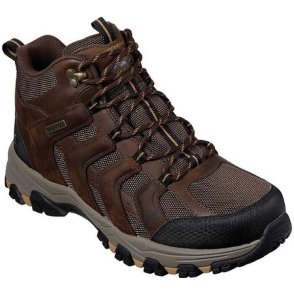 スケッチャーズ メンズ ブーツ&レインブーツ シューズ Relaxed Fit Selmen Relodge Hiking Boot Chocolate Dark Brown