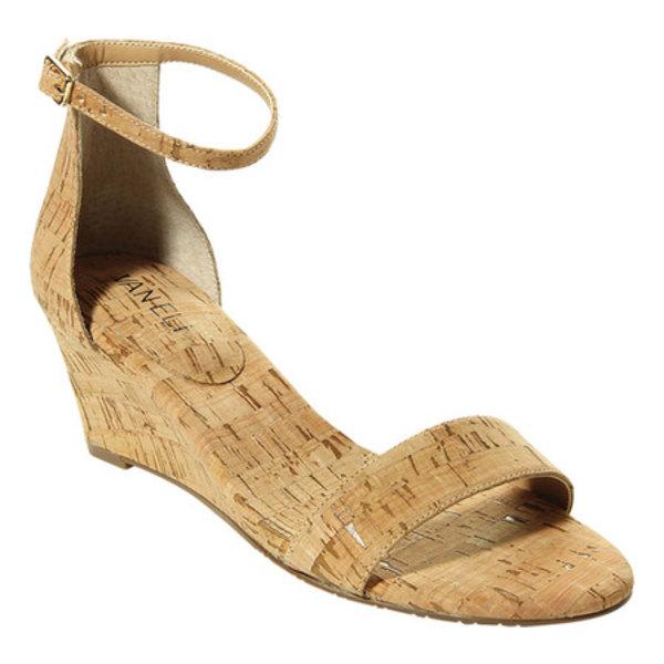 ベネリ レディース サンダル シューズ Monir Ankle Strap Wedge Sandal Natural Cork