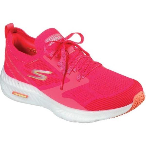 スケッチャーズ レディース スニーカー シューズ GOrun Smart Hyper Sneaker Hot Pink