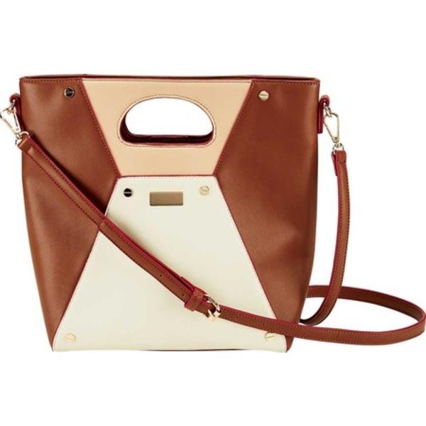 サンディエゴハット メンズ ボディバッグ・ウエストポーチ バッグ Structured Colorblock Cross Body Bag BSB3668 Tan