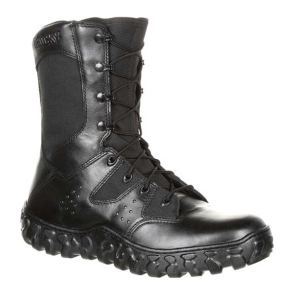 ロッキー メンズ ブーツ&レインブーツ シューズ S2V Predator Duty Boot RKC075 Black Leather/Synthetic