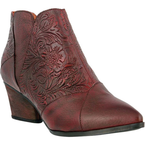 スプリングステップ レディース ブーツ&レインブーツ シューズ Melodie Ankle Bootie Bordeaux Full Grain Leather