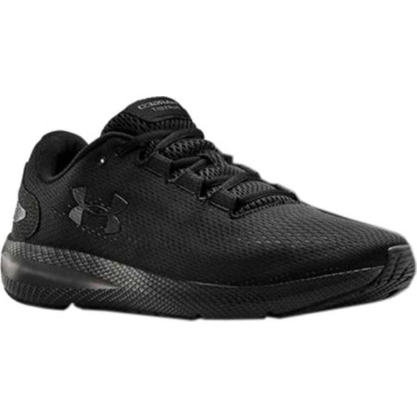 アンダーアーマー メンズ スニーカー シューズ Charged Pursuit 2 Running Sneaker Black/Black/Black