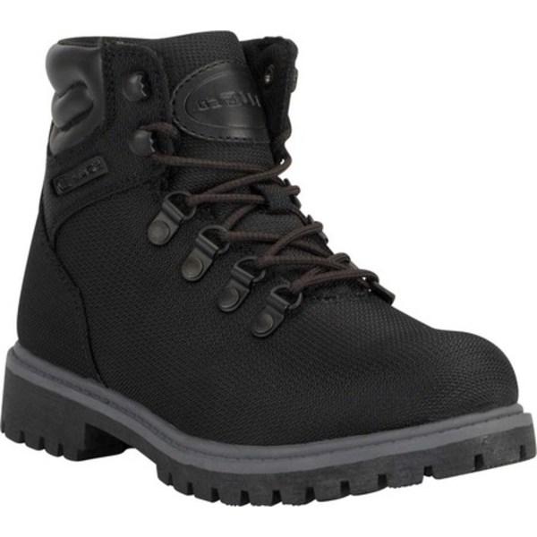 ラグズ レディース ブーツ&レインブーツ シューズ Grotto II Boot Black/Charcoal Synthetic Nubuck