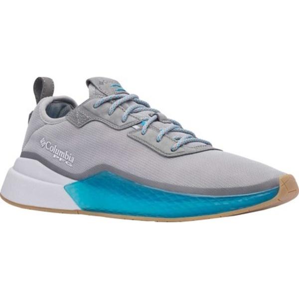コロンビア メンズ スニーカー シューズ Low Drag PFG Sneaker Dove/Blue Chill