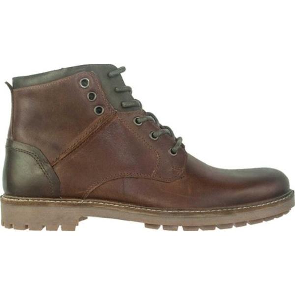 クレボ メンズ ブーツ&レインブーツ シューズ Albany Ankle Boot Brown Leather