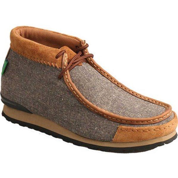 ツイステッド エックス メンズ ブーツ&レインブーツ シューズ MOD0002 Chukka Boot Dust/Tan Canvas/Leather