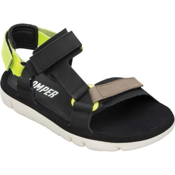 カンペール Sandal Sport Full Leather Grain Black/Multi Oruga サンダル メンズ シューズ
