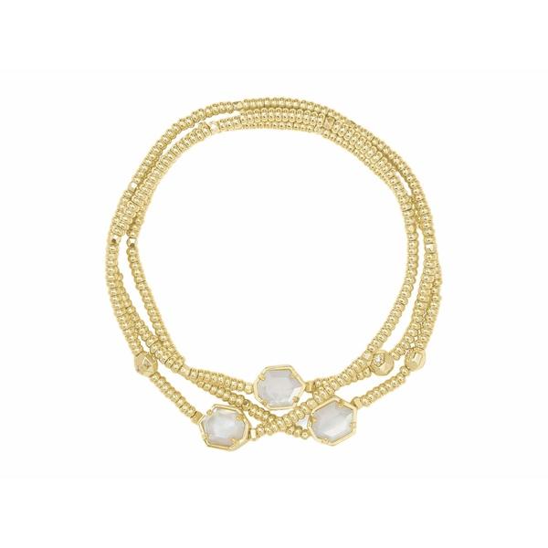 当店一番人気 ケンドラスコット レディース アクセサリー ブレスレット バングル アンクレット 全商品無料サイズ交換 Stretch Tomon Ivory Bracelet NEW ARRIVAL Mother-of-Pearl