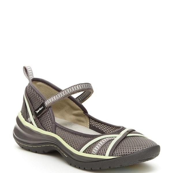 ジャンブー レディース スニーカー シューズ Mystic Water-Friendly Mesh Mary Jane Shoes Grey/Pistachio