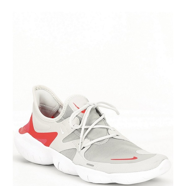 ナイキ メンズ スニーカー シューズ Men's Free RN 5.0 Running Shoe Photon Dust/Light Smoke Grey/White