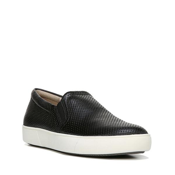 ナチュライザー レディース スニーカー シューズ Marianne Perforated Leather Sneakers Black