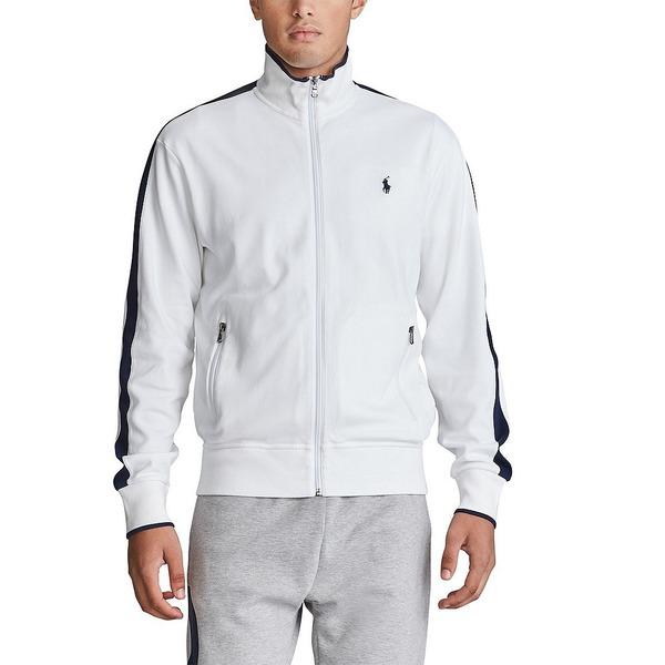 メンズ Track Pure Jacket アウター Full-Zip ラルフローレン White ジャケット&ブルゾン