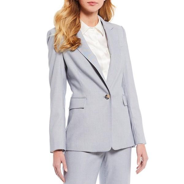 アントニオメラニー レディース ジャケット&ブルゾン アウター Kate Cross Dye Suiting Blazer Sky/Ivory