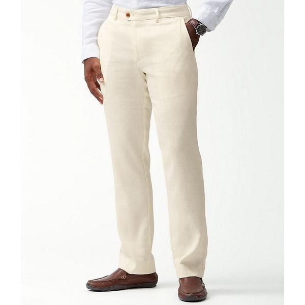 トッミーバハマ メンズ 期間限定で特別価格 ボトムス カジュアルパンツ Bleached Sand Flat-Front 日本正規代理店品 Pants 全商品無料サイズ交換 Bay Mahalo